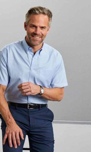 Russell Herrenhemd Kurzarm Classic Fit