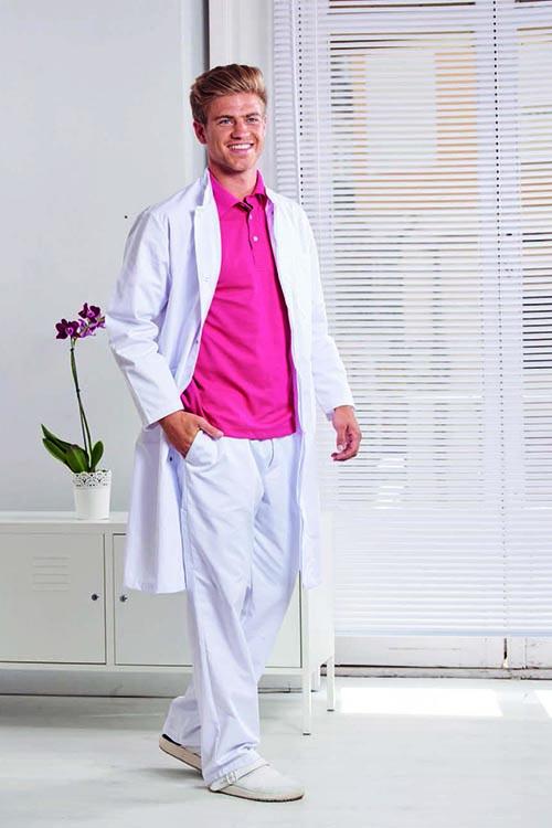 Arztmantel_weiß_Poloshirt