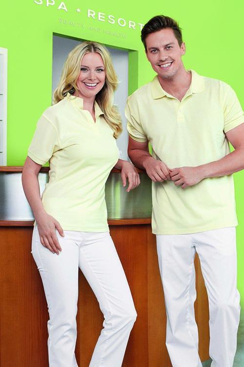 Polohemden-gelb