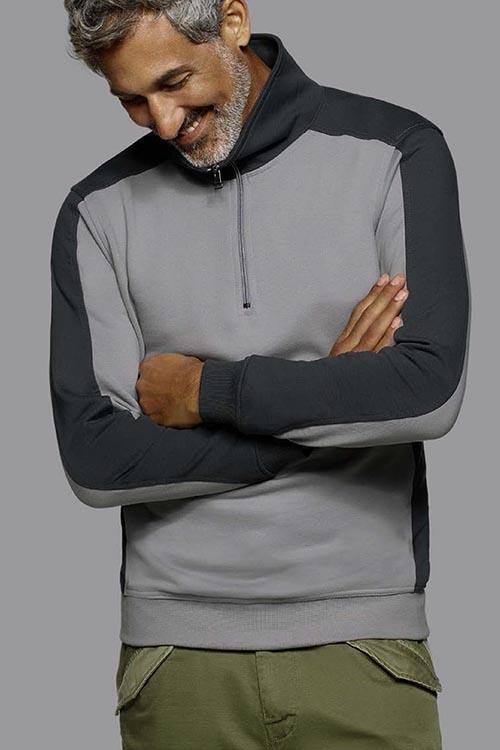 Sweatshirt_Zipper_grau