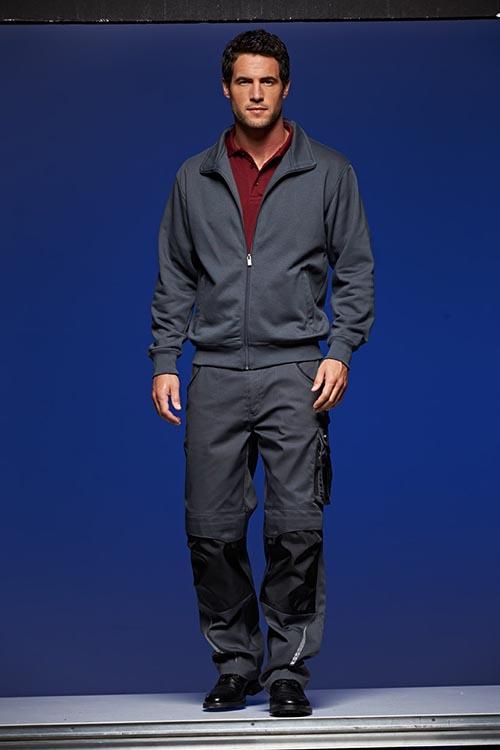 Arbeitskleidung_Jacke_Hose_schwarz_carbon