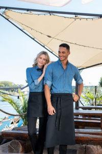 Greiff Service Outfits Jeanshemden und Jeansschürzen