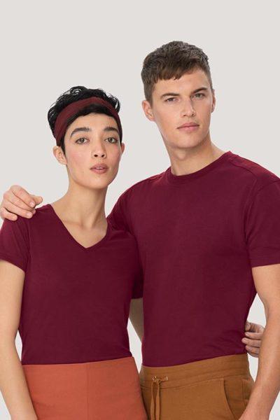 Hakro High Performance T-shirt - T-shirt aus Mischgewebe extrem strapazierfähig, kochfest, chlorecht, farb- und formbeständig