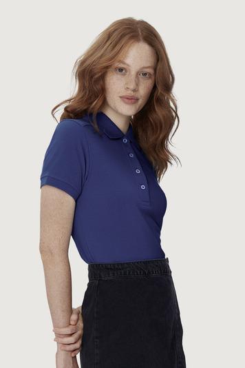 Hakro High Performance Damen Poloshirt - Poloshirt aus Mischgewebe extrem strapazierfähig, kochfest, chlorecht, farb- und formbeständig