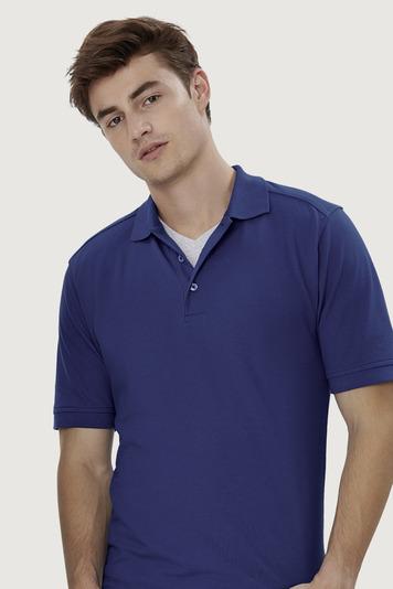 Hakro High Performance Herren Poloshirt - Poloshirt aus Mischgewebe extrem strapazierfähig, kochfest, chlorecht, farb- und formbeständig