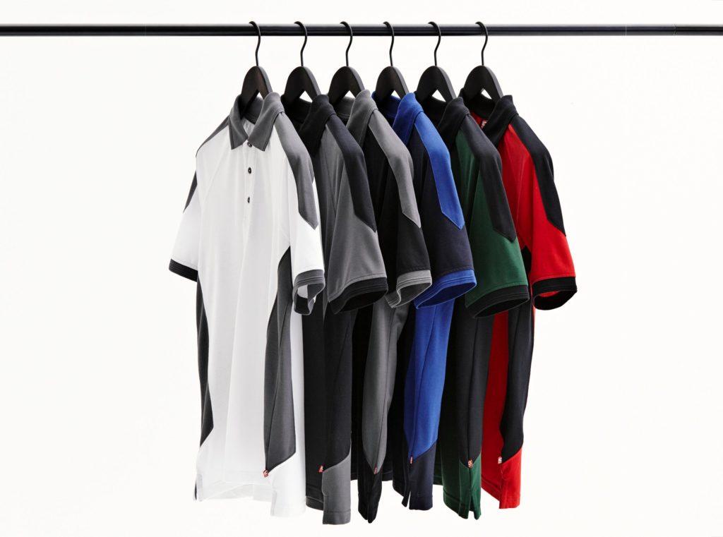 ID Pro Wear - Herren Poloshirt mit Kontrastfarben