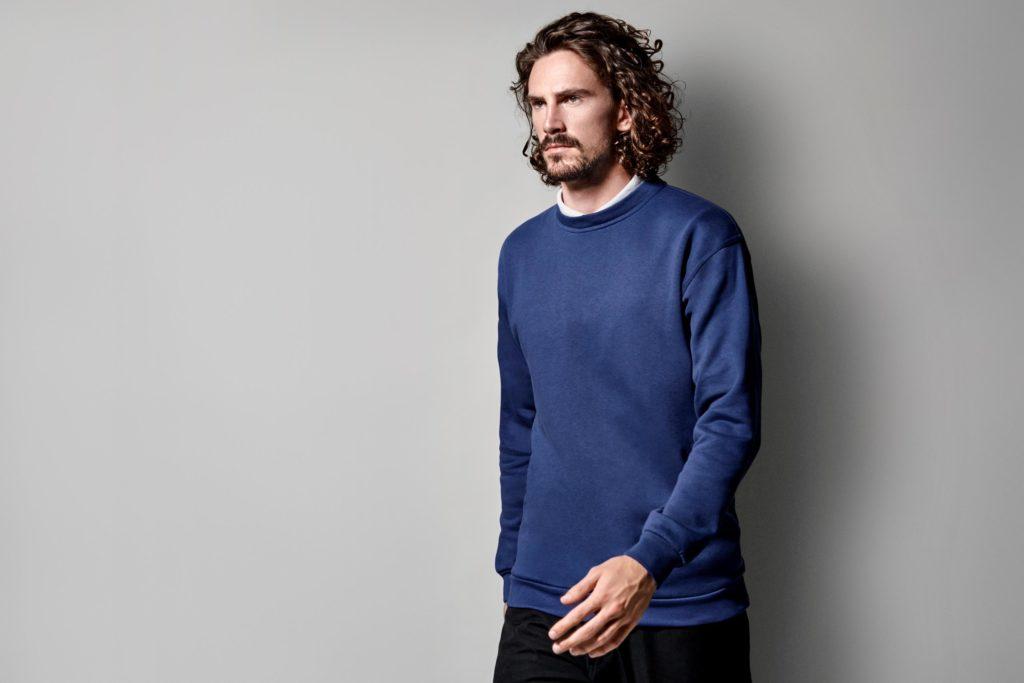 ID Pro Wear - Herren Unisex Sweatshirt mit weicher angerauter Innenseite