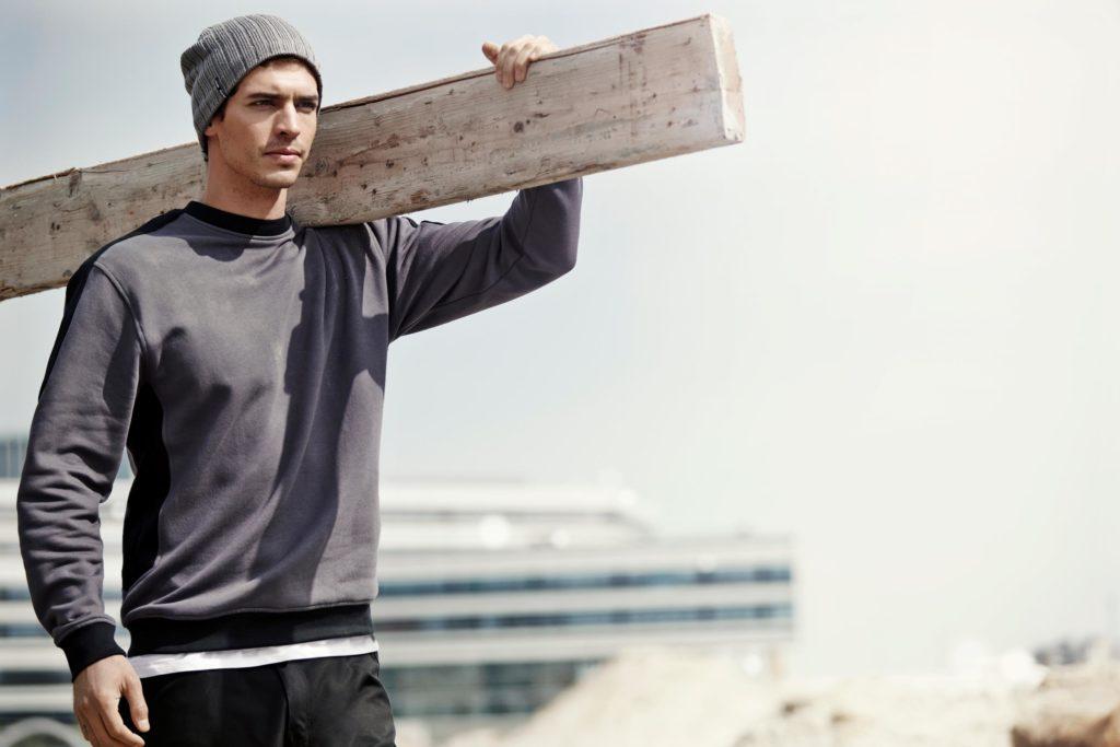 ID Pro Wear - Herren Unisex Sweatshirt strapazierfähig