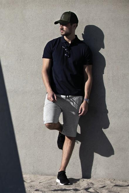 Berufsbekleidung Fitnessstudio Unisex Sweatpants HICKORY aus der Nimbus Play Kollektion in Grey Melange