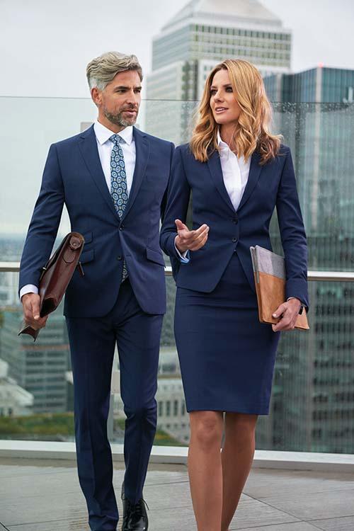 Berufsbekleidung Büro Businessoutfit Blazer und Rock, Sakko und Hose