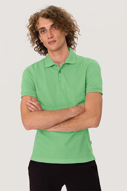 Berufsbekleidung Zahnarzt Herrenpoloshirt Apfelgrün
