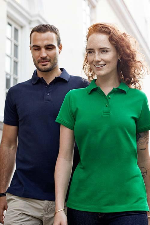 Berufsbekleidung Verkehrsbetriebe Poloshirts Damen und Herren Physiotherapie Berufsbekleidung