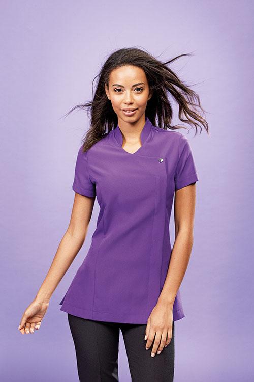 Berufsbekleidung Beauty & Wellness Kasack Asiastyle Lila