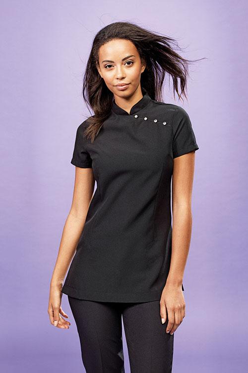 Bekleidung Zimmermädchen Asiakasack schwarz