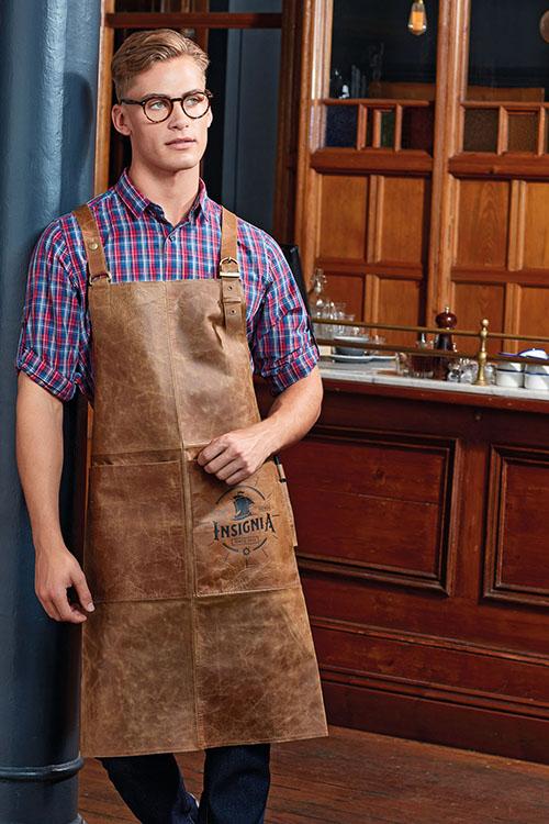 Berufsbekleidung Kantine Lederschürze