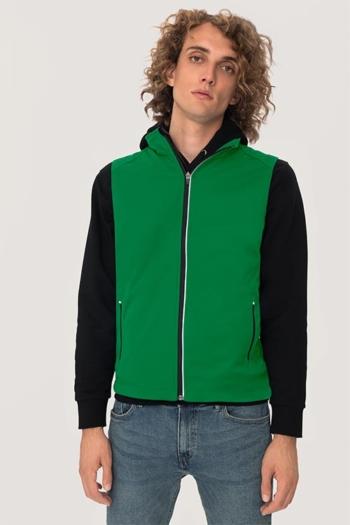 Arbeitskleidung leichte Softshellweste HAK854 in grün