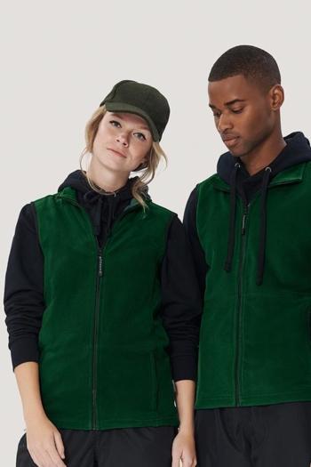 Arbeitskleidung leichte Fleecewesten HAK241/841 in grün