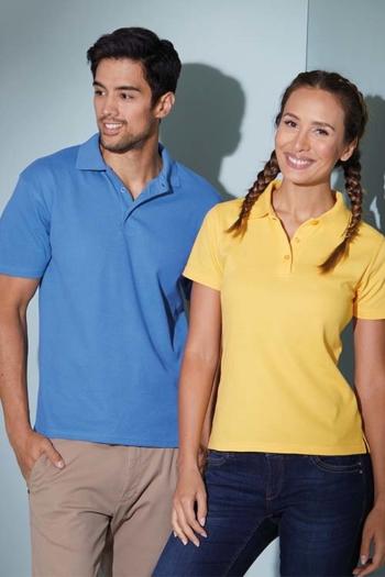 Berufsbekleidung Zimmermädchen farbenfrohe Poloshirts JN024/197
