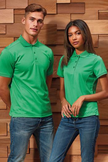 Berufsbekleidung Housekeeping grüne Poloshirts PW615/616