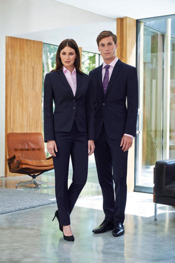 Berufsbekleidung Bestattungsinstitut Kombination aus Sakko/Blazer und Hosen in dunkelblau