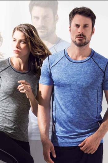 Berufsbekleidung Fitnessstudio Funktionsshirts aus recyceltem Polyester mit reflektierenden Elementen ST8940/8840