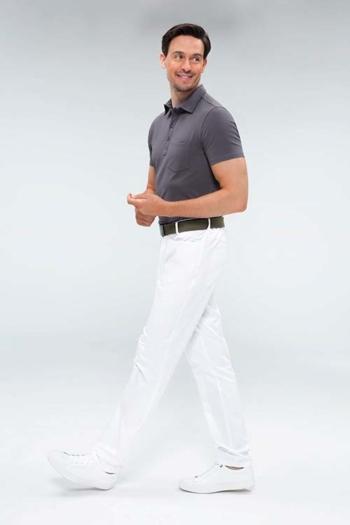 Berufsbekleidung Apotheke Herren Hose mit flexiblem Bund und 5-Pocket-Schnitt GR-5321