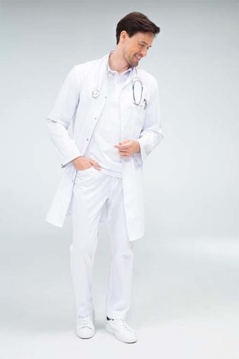 Berufsbekleidung Medizin UNISEX-MANTEL mit Stehkragen GR-5024