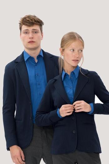 Berufsbekleidung Hotel Sweatblazer und Sweatsakko in tinte HAK260/660
