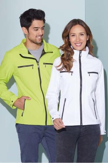Softshelljacke besticken trendige Jacke in neuem Design mit Stehkragen JN1057/1058