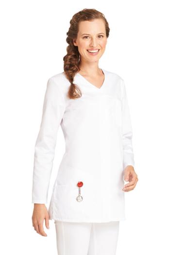Berufsbekleidung Labor Damenschlupfkasack in weiß LB-08/2500