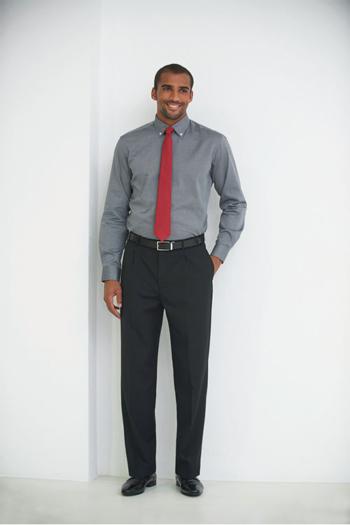 Krawatten und Halstücher rote Krawatte mit grauem Hemd