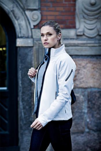 Jacken besticken Damen Softshell-Jacke Duxbury mit exzellenter Passform und traumhaft weichem 3-Lagen Funktionssoftshell