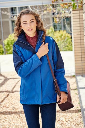 Jacken besticken Damen 3-in-1 Jacke mit herausnehmbarer Innenjacke RG1320