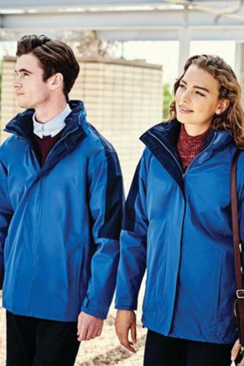 Jacken besticken Damen und Herren  3-in-1 Jacke mit herausnehmbarer Innenjacke RG1320