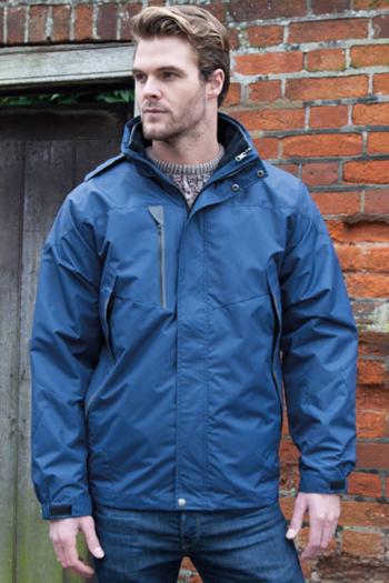 Jacken besticken Herren  3-in-1 Softshell Journey Jacket RT400