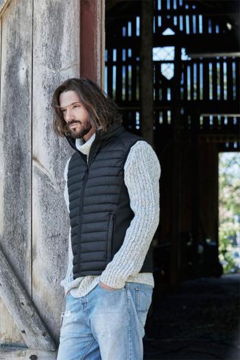 Jacken besticken Herren Crossover Bodywarmer winddicht und wasserabweisend TJ9624
