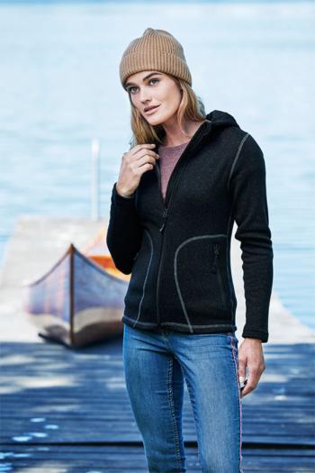 Corporate Fashion Damen Outdoor Hooded Fleece Jacket TJ9618