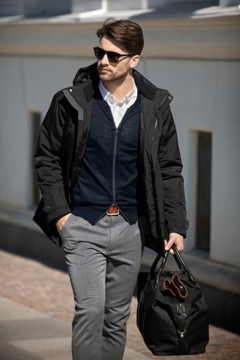 Nimbus Jacke Avondale ist unser luxuriöser Herren Winterparka im modernen Business-Look