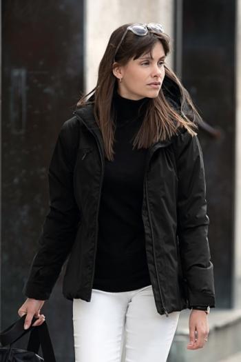 Nimbus Jacke hochtechnische Damen Winterjacke Fairview mit einer Sorona® Wattierung in schwarz