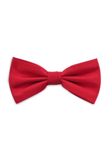 Eventbekleidung Fliege in rot aus Polyester JBS401