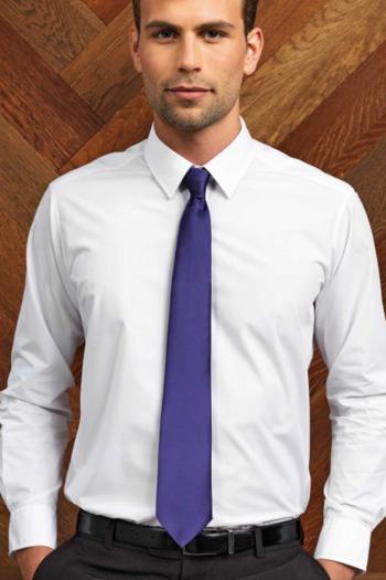 Krawatten und Halstücher Business Krawatte in vielen verschiedenen Farben aus Polyester PW765