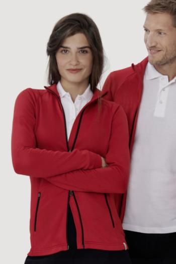 HAKRO Arbeitskleidung funktionelle sportlich geschnittene TEC Jacke für Damen und Herren HAK207/807
