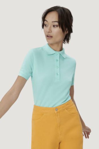 HAKRO Arbeitskleidung strapazierfähiges Damen Poloshirt in vielen verschiedenen Farben erhältlich HAK216