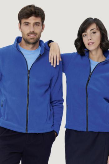 HAKRO Arbeitskleidung funktionelle sportlich geschnittene Stretchfleecejacke für Damen und Herren HAK244/844