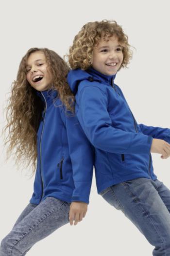 HAKRO Arbeitskleidung strapazierfähige Softshelljacke für Kinder in mehreren Farben erhältlich HAK630