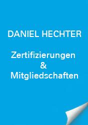 Daniel Hechter Zertifizierungen & Mitgliedschaft