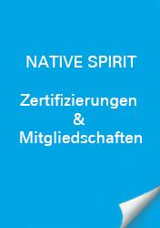 Native Spirit Zertifizierungen & Mitgliedschaft