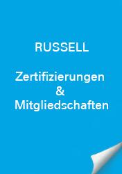 Russell Zertifizierungen & Mitgliedschaft